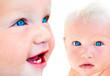 Blue eyed babies
