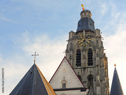 Oudenaarde, church of Saint Walburga, Flanders