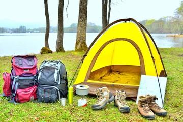 楽しいテントキャンプ