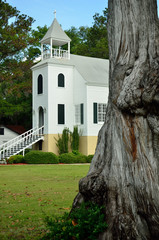 Historic Presbyterian Church in Saint Marys Georgia