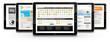 Tablet-PC, Webdesign, Vorlage, Präsentation, Templates, Design