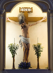 Jesus statue in St. Dominic's Chruch, Macao