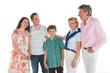 Stolze Eltern und Großeltern