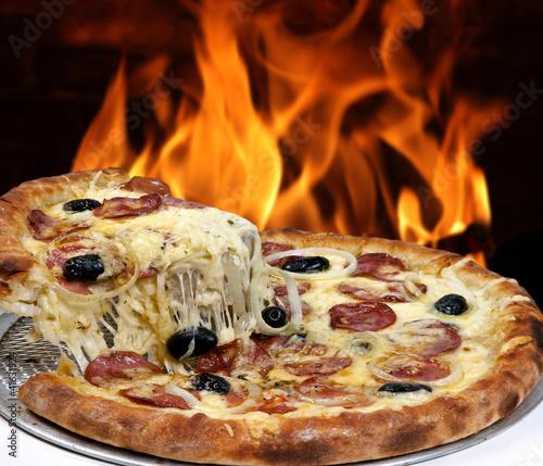 In de dag Brood Pizza