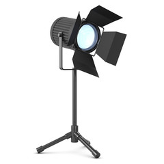 3d Studio light on stand