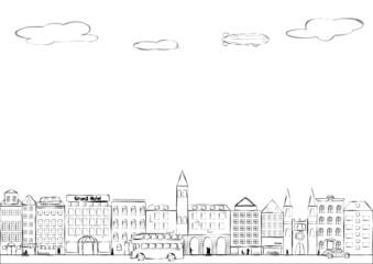 Cityscape-line