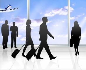 Airport - Geschäftsreise