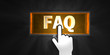 FAQ Button Hand