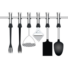kitchen items related to cooking