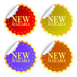 Vector new available labels set