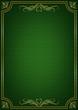 Çerçeveli yeşil tekstüre