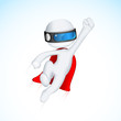 3d Superhero in Vactor