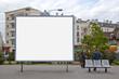 Leinwandbild Motiv Panneau affichage