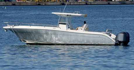 Sport-fishing boat