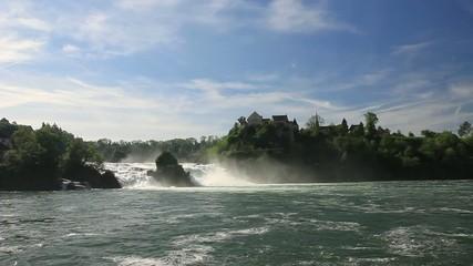 Rhine Falls. Northern Svitserland. Europe.