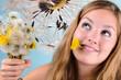 Dandelions in the springtime: I wish .....