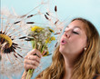 Spring and dandelions: many wishes and dreams