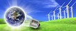 Wind turbines farm energy production to the world