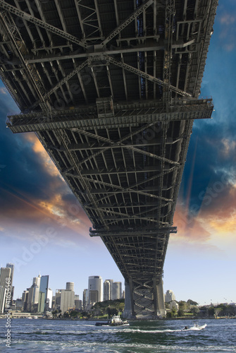 Bridge in the Sydney Harbour