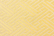 Close-up yellow fabric textile texture