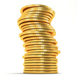 Stack of Gold Coin