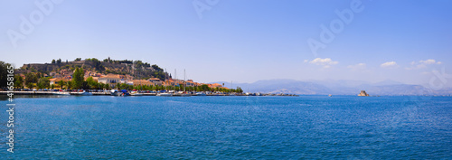 Panorama of Nafplion, Greece