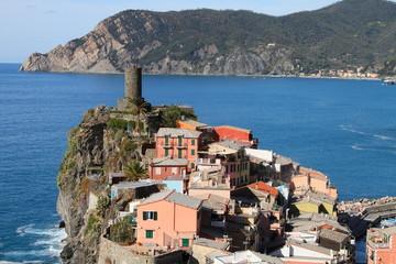 village of Cinque Terre, unesco world heritage, Italy