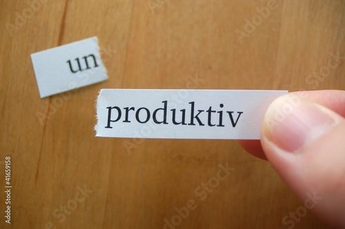 un-produktiv