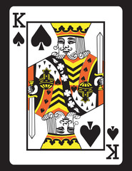 King of Spades! Vector eps 8