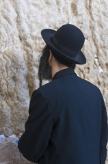 Prayer in The Western wall