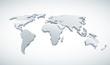 3d Vector World Map.