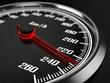 Fototapeten,hoch,raced,tachometer,personenwagen