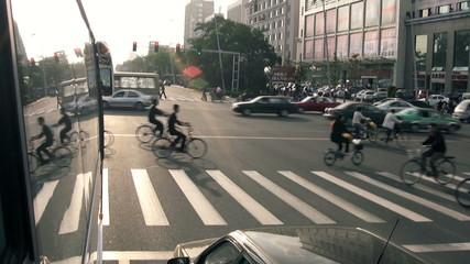 Chinesischer Zebrastreifen
