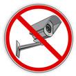 Verbotsschild- Fotografieren verboten