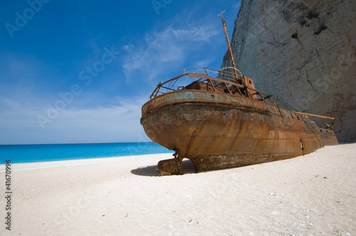 Smuggler's shipwreck