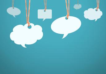 speech bubble concept