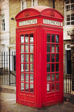 English phone booth