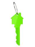 Haus Schlüssel grün