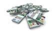 Falling 100 Polish zlotys (PLN) Packs - Realistic