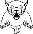 Постер, плакат: Panther Attacking