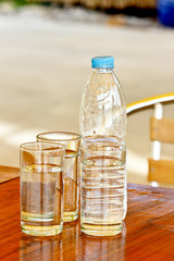 Clean,safe drinking water consumption