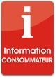 bouton information consommateur