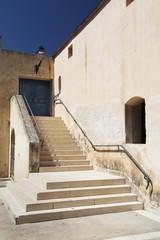 old mediterranean house in corse island