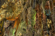 Saint Michelle cave interior details,Gibraltar