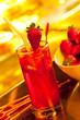 Ice strawberry tea