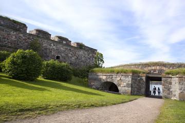 Suomenlinna fortress, in Helsinki, Finland