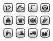 Services and business icons - vector icon set