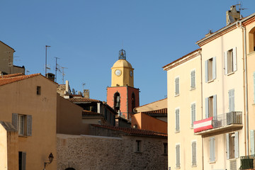 Campanile a Saint Tropez