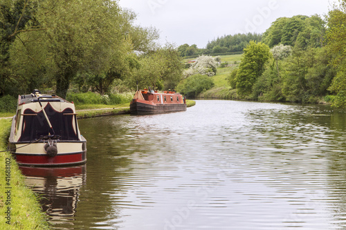 Grand Union Canal boats
