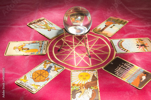 crystal ball tarot